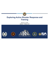 VRN Webinar: Exploring Active Shooter Response and Training